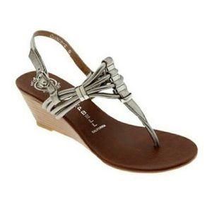 Jeffrey Campbell Leather Sandals Size 8